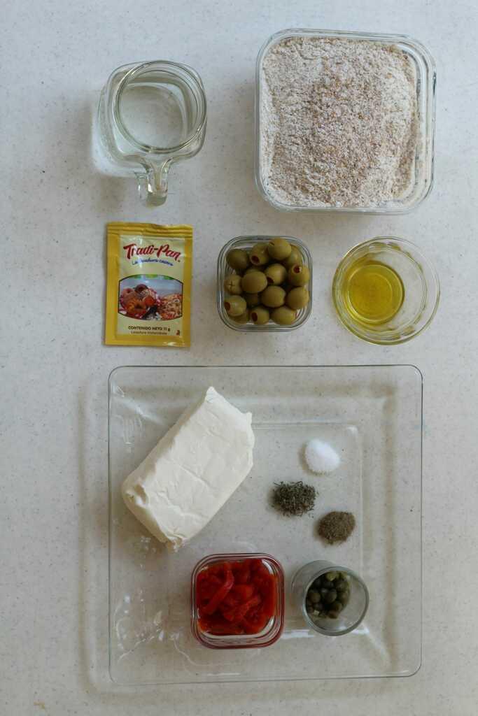 pan de aceitunas ingredientes