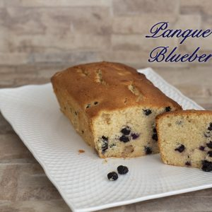 panque de blueberries