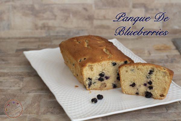 panque de blueberries