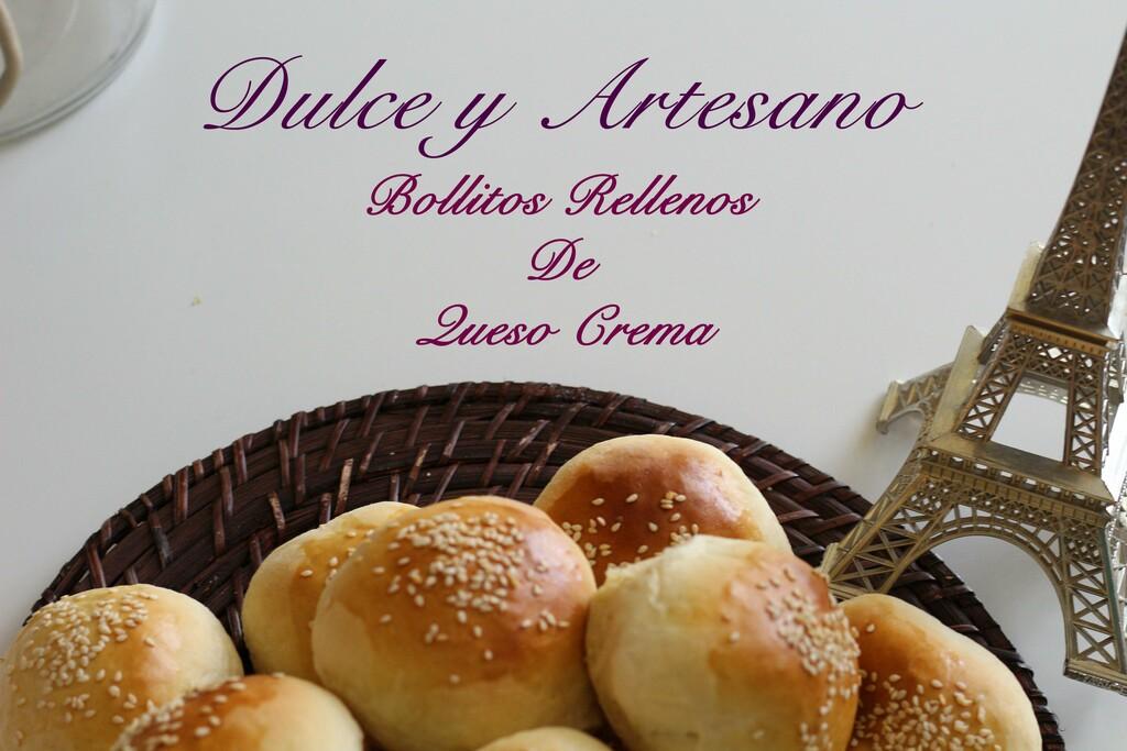 BOLLITOS RELLENOS DE QUESO CREMA