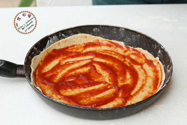 tomate PIZZA ESPECIADA AL SARTEN24