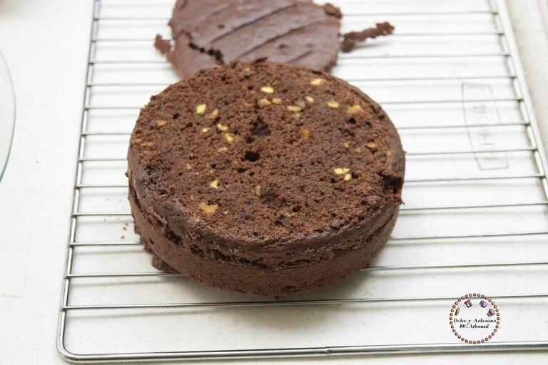 torta PASTEL DE CHOCOLATE PISTACHE
