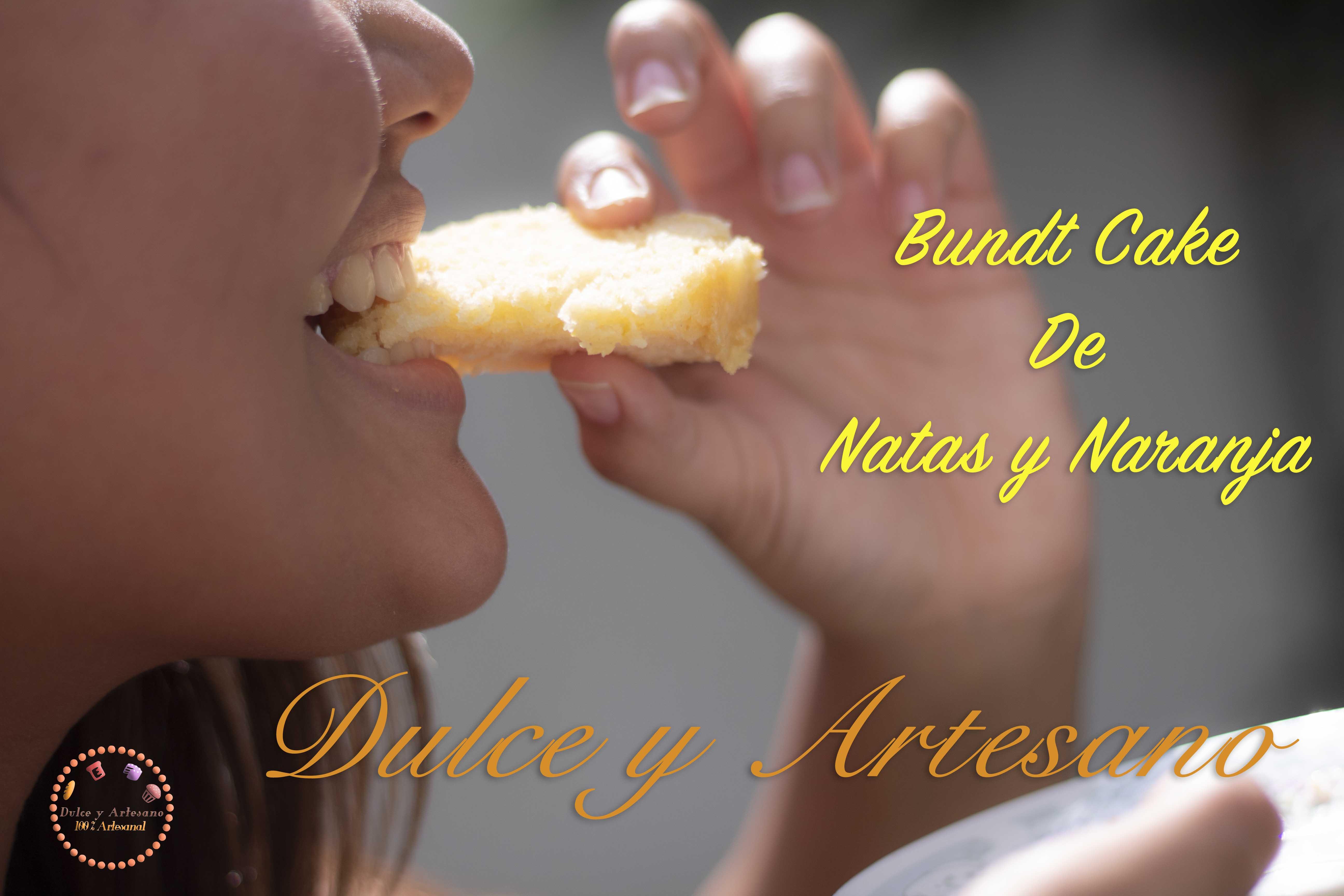 pastel bundt cake naranja y natas 3