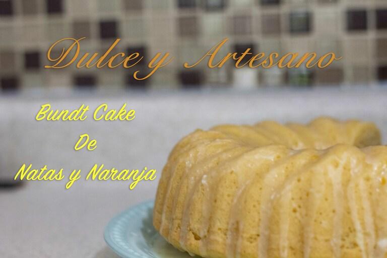 pastel bundt cake naranja y natas 2