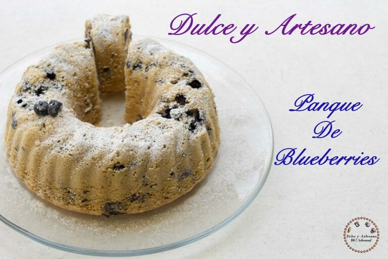 ROSCA DE BLUECERRIES BUNDT CAKE 6