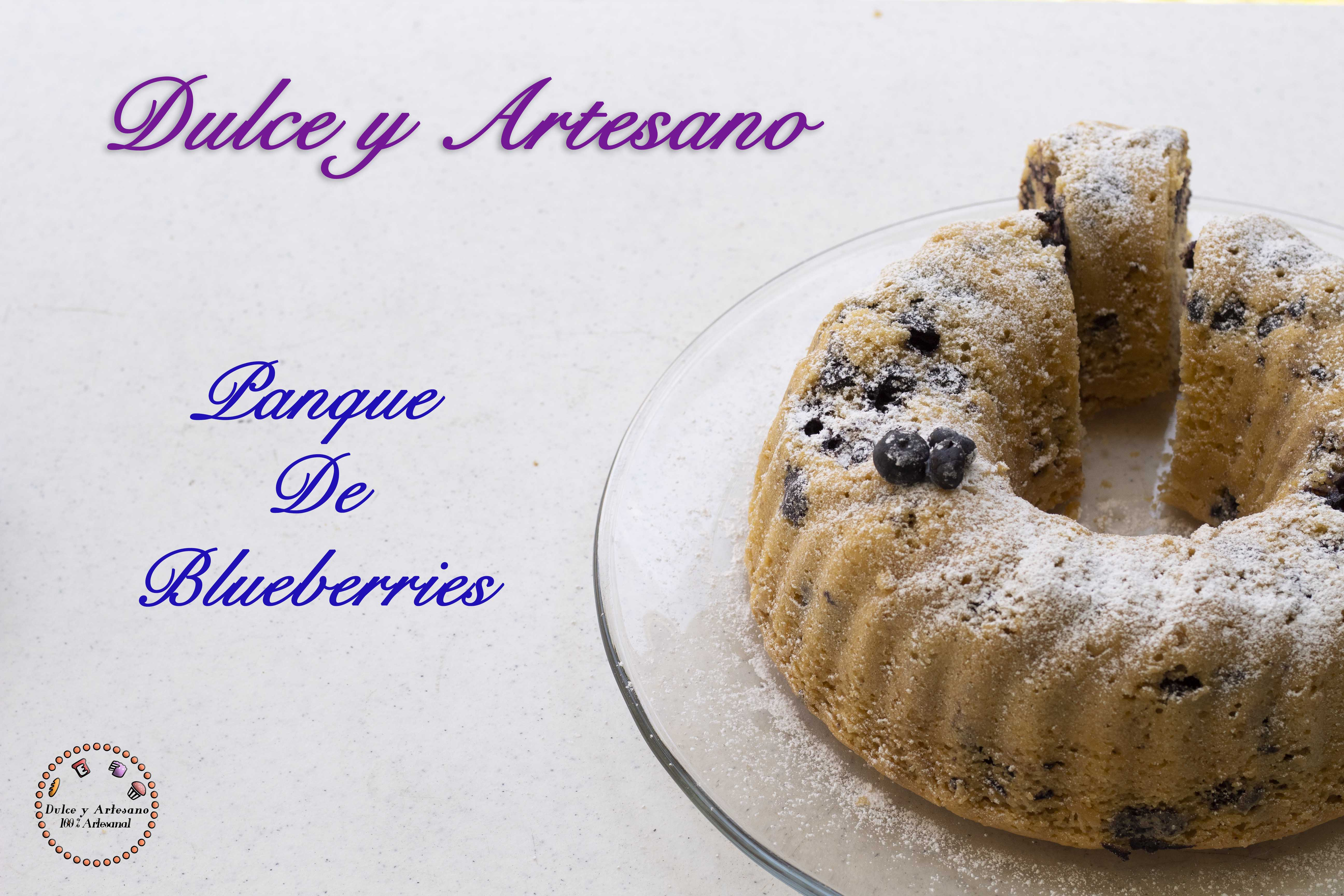 ROSCA DE BLUECERRIES BUNDT CAKE