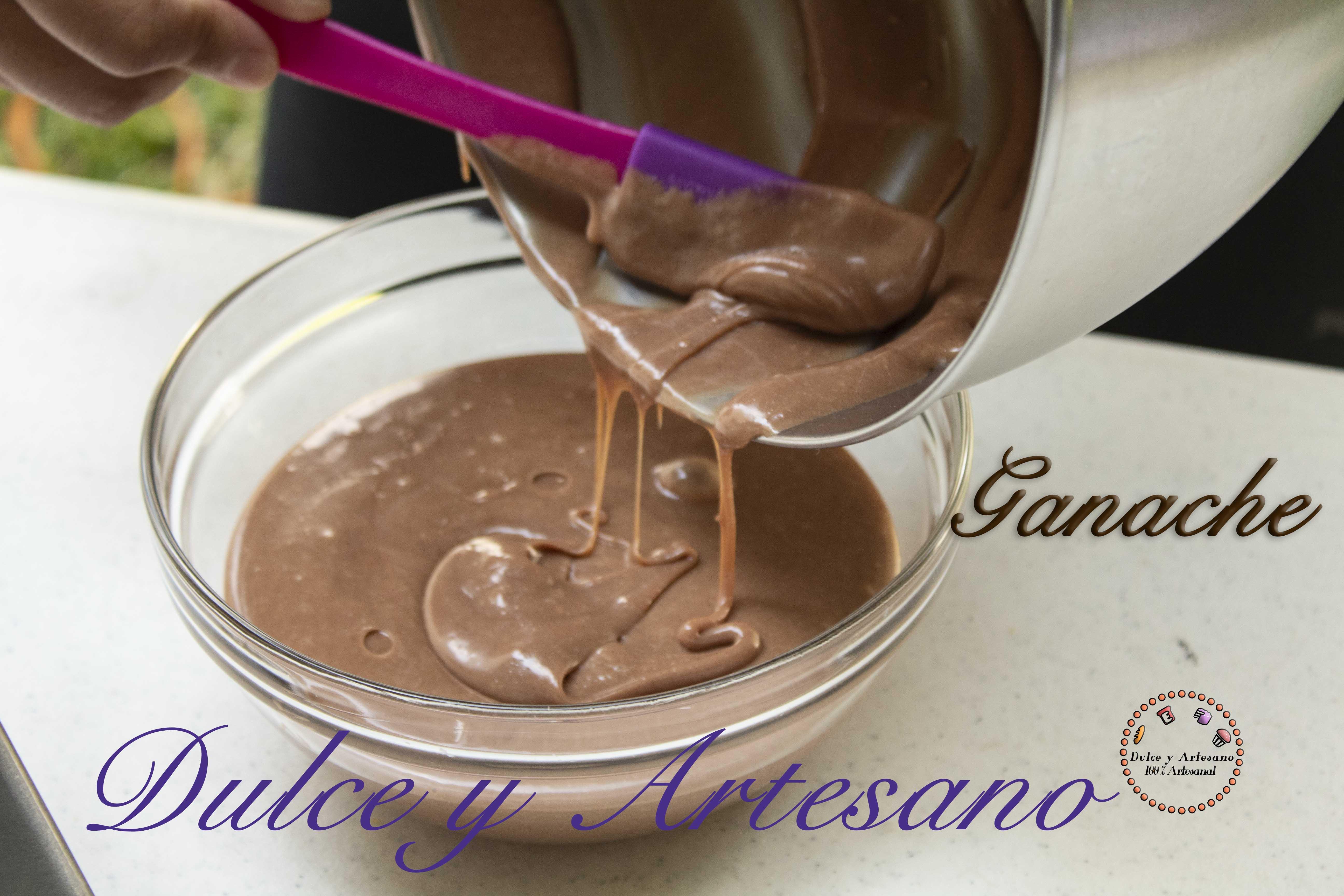 GANACHE DE CHOCOLATE PRINCIPAL