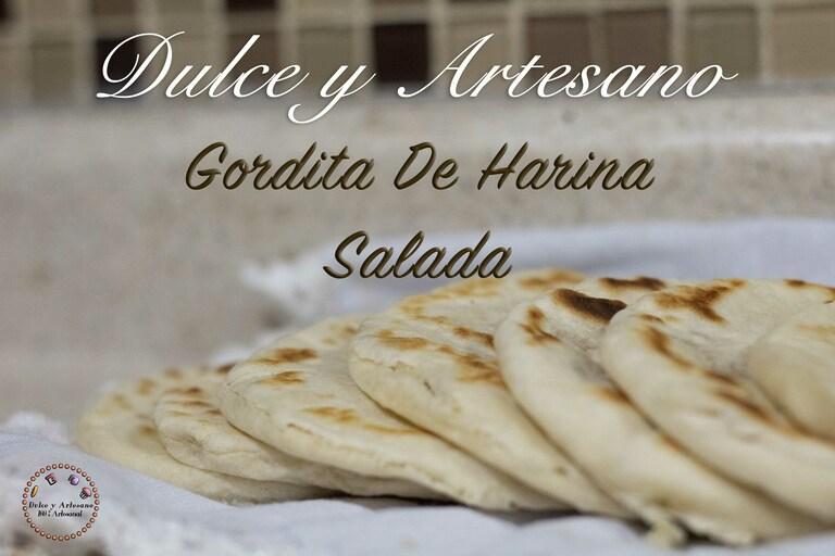 gordita de harina salada para rellenar 2