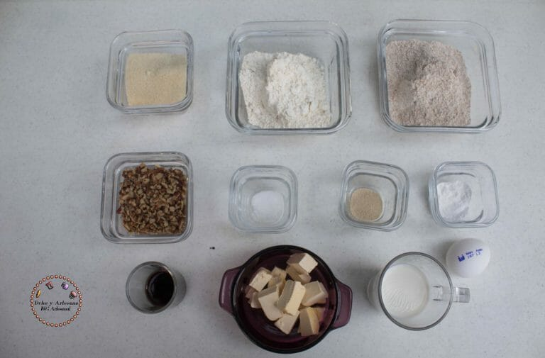 galletas de nuez ingredientes