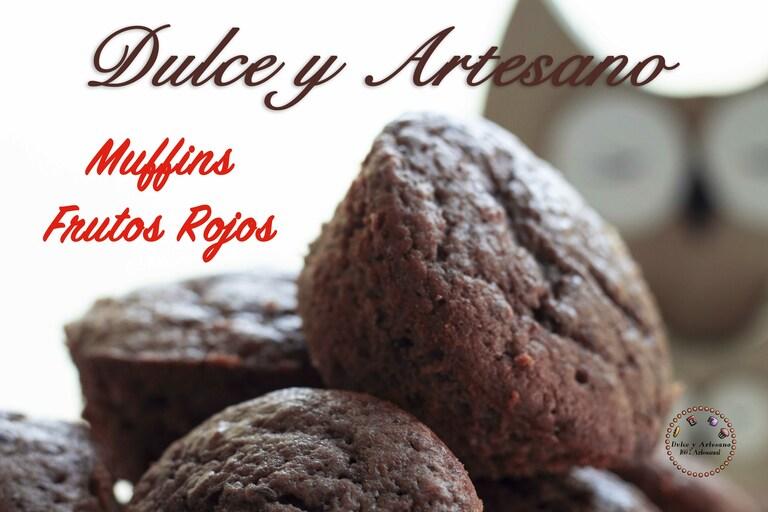 muffins frutos rojos foto final 3