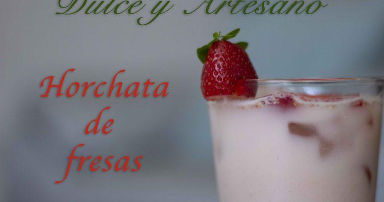 HORCHATA DE FRESA RECETA