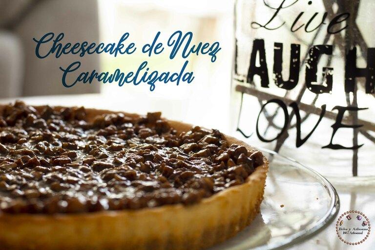 CHESSE CAKE CON NUEZ CARAMELIZADA 2