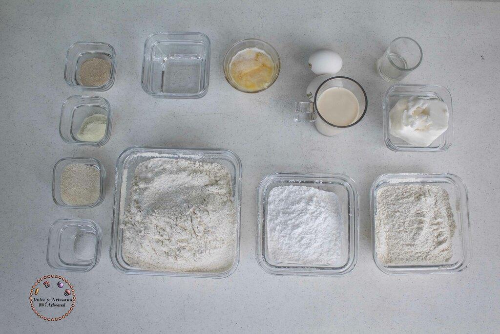 ingredientes conchas