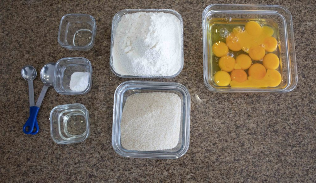 ingredientes pan tres leches