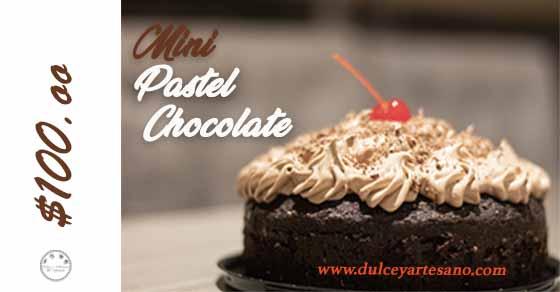 mini pastel de chocolate ver 4