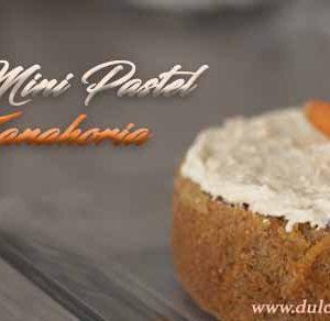 mini pastel de zanahoria 4