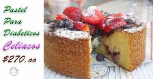 pastel para diabeticos celiacos 2