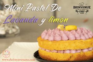 mini pastel lavanda limon