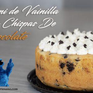 Mini Pastel Vainilla con Chispas de Chocolate Turin