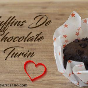 muffins de chocolate turin
